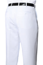 Load image into Gallery viewer, Premium White Regular Fit Suspender Ready Formal & Business Pants - Ferrecci USA