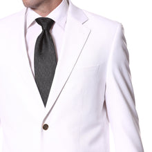 Load image into Gallery viewer, White Gold Button Regular Fit Blazer - Ferrecci USA