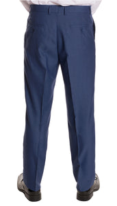 Ford New Blue Regular Fit 2 Piece Suit - Ferrecci USA