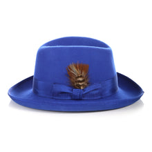 Load image into Gallery viewer, Ferrecci Premium Royal Blue Godfather Hat - Ferrecci USA