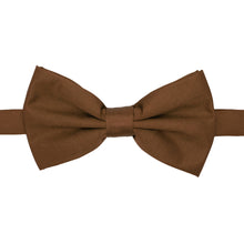 Load image into Gallery viewer, Gia Brown Satine Adjustable Bowtie - Ferrecci USA