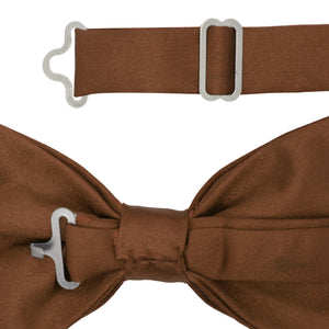 Gia Brown Satine Adjustable Bowtie - Ferrecci USA