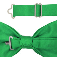 Load image into Gallery viewer, Gia Green Satine Adjustable Bowtie - Ferrecci USA