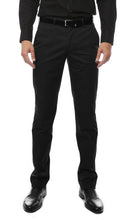 Load image into Gallery viewer, Zonettie Kilo Black Straight Leg Chino Pants - Ferrecci USA