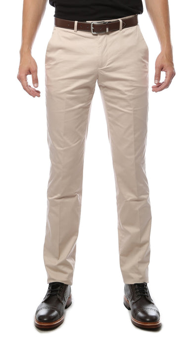 Zonettie Kilo Bone Straight Leg Chino Pants - Ferrecci USA