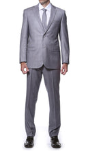 Load image into Gallery viewer, Lincoln Grey 2 Piece Slim Fit Plaid Suit - Ferrecci USA
