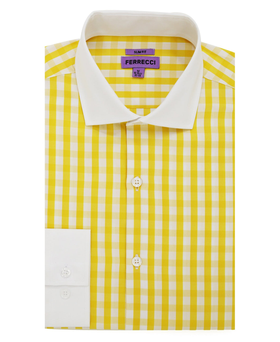 The Maxwell Slim Fit Cotton Shirt - Ferrecci USA