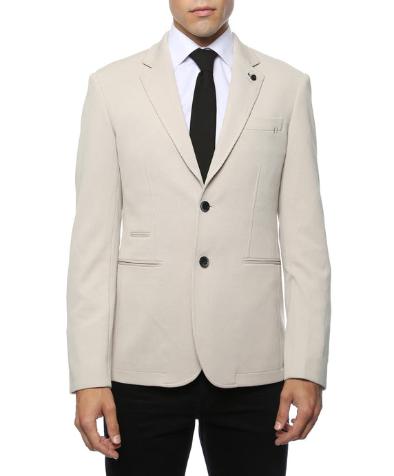 Modena Dove Knit Slim Fit Blazer - Ferrecci USA