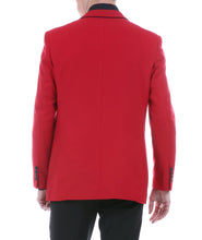 Load image into Gallery viewer, Porter Red Men's Slim Fit Blazer - Ferrecci USA