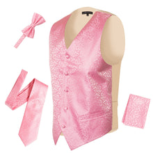 Load image into Gallery viewer, Ferrecci Mens PV50-10 Pink Cream Vest Set - Ferrecci USA