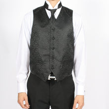 Load image into Gallery viewer, Ferrecci Mens PV50-4 Black Vest Set - Ferrecci USA