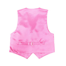 Load image into Gallery viewer, Premium Boys Fuchsia Solid Vest 600 - Ferrecci USA