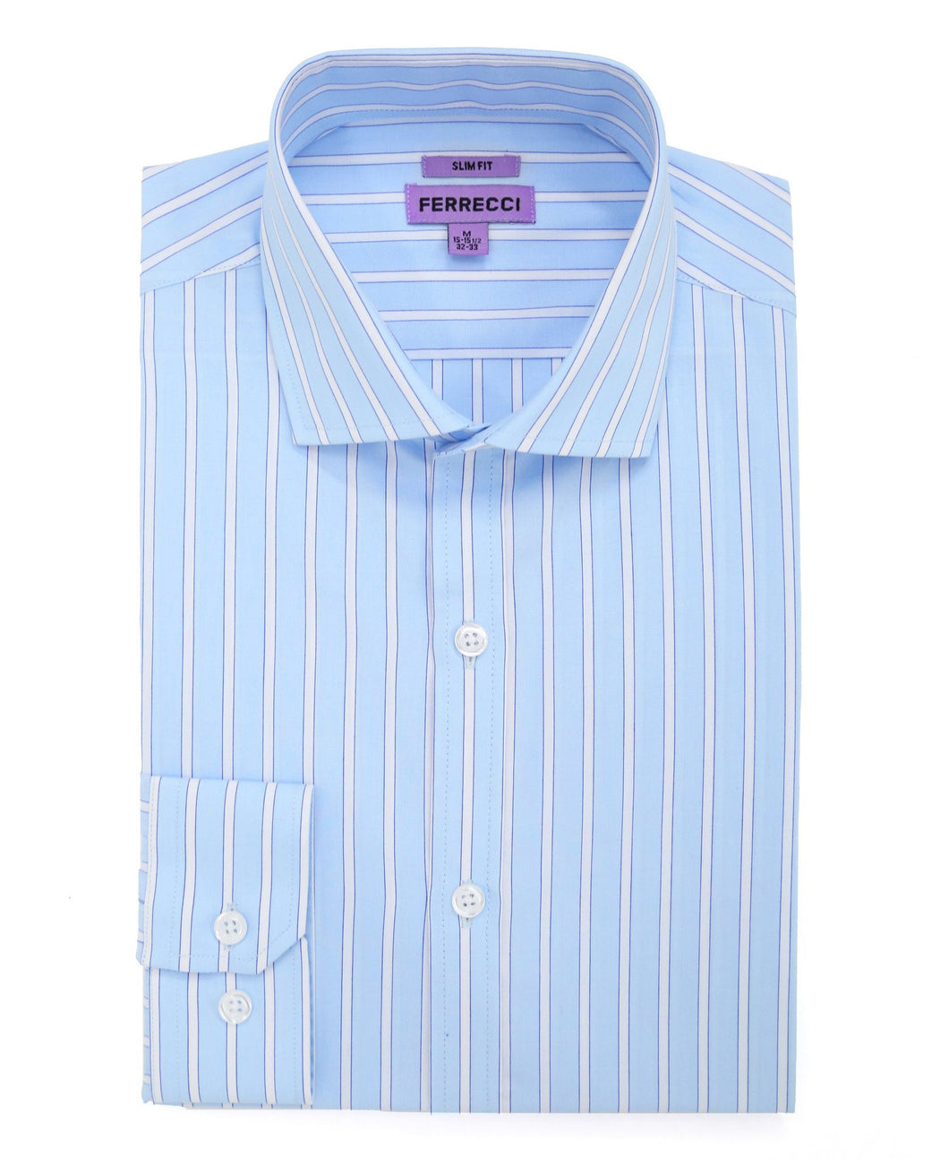 The Regal Slim Fit Cotton Shirt - Ferrecci USA