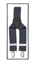 Load image into Gallery viewer, Shale Vintage Style Unisex Suspenders - Ferrecci USA