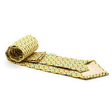 Load image into Gallery viewer, Carriage Driver Yellow Necktie with Handkerchief Set - Ferrecci USA