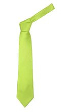 Load image into Gallery viewer, Premium Microfiber Green Glow Necktie - Ferrecci USA
