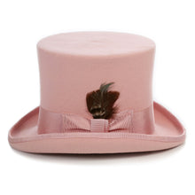Load image into Gallery viewer, Premium Wool Pink Top Hat - Ferrecci USA