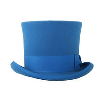 Load image into Gallery viewer, Premium Wool Blue Top Hat - Ferrecci USA