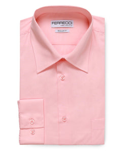 Virgo Pink Regular Fit Shirt - Ferrecci USA