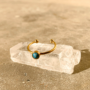 Everyday Ring – Blue Apatite