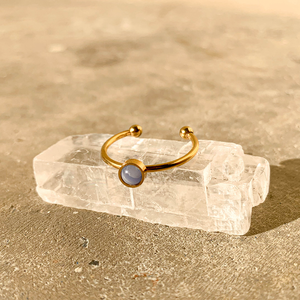 Everyday Ring – Blue Lace Agate