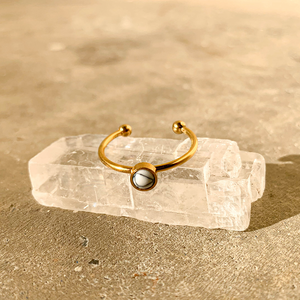 Everyday Ring – Howlite