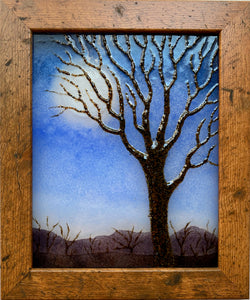 Framed Full Moon Tree