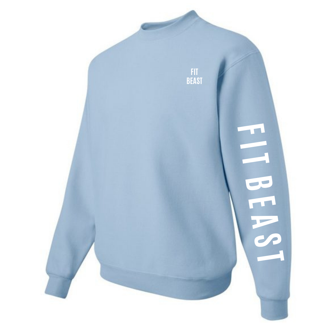 Blissful Blue Classic Crewneck