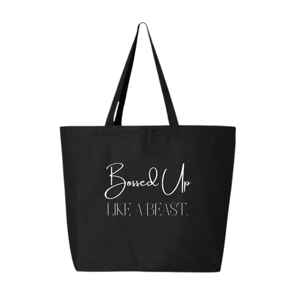 Bossed Up Oversized Tote Bag
