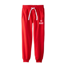 Load image into Gallery viewer, Red Hooded Tracksuit