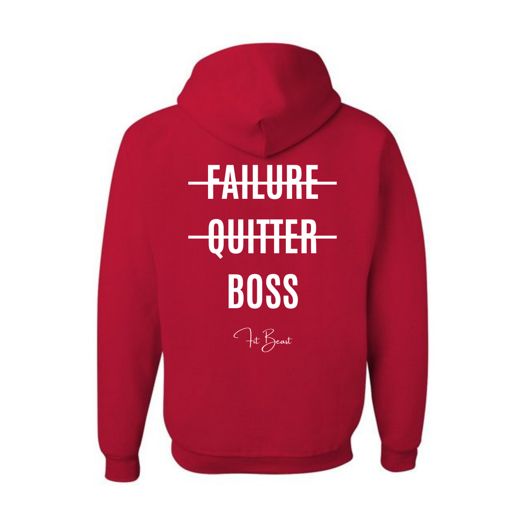 Red Big Boss Hoodie