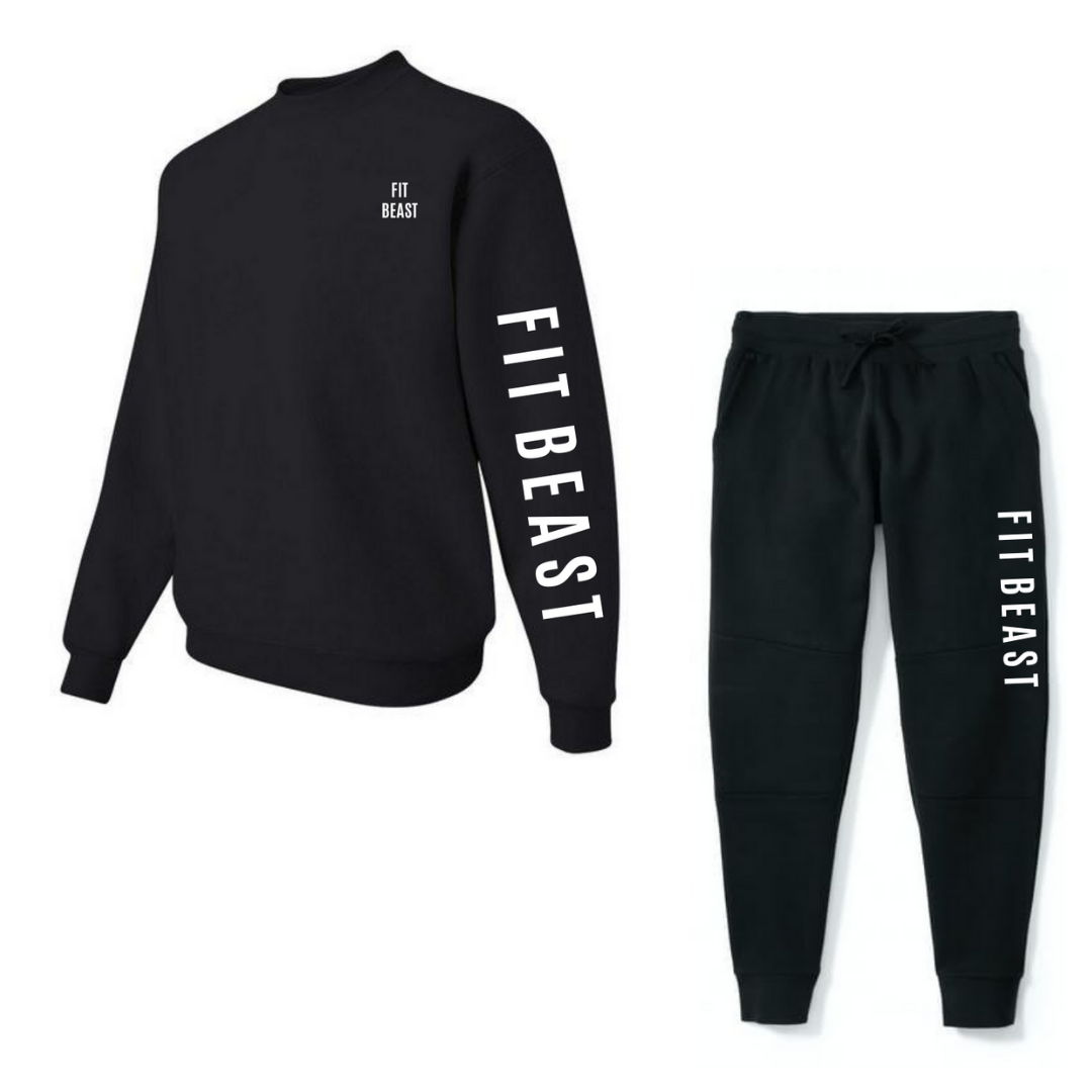 Black Signature Tracksuit