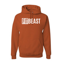 Texas Orange Fit Beast Hoodie