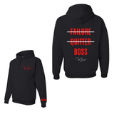 Black and Red Big Boss Hoodie
