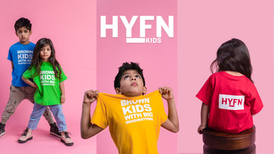 Drop 2: HYFN KIDS clothing for children