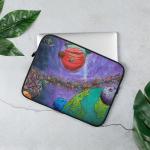 Across the Universe Laptop Sleeve Laptop Sleeve 13 in Deven Rue