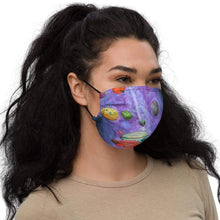 Load image into Gallery viewer, Across the Universe Premium face mask Deven Rue