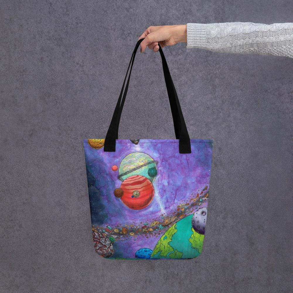 Across the Universe Tote Bag Bag Deven Rue