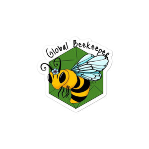 B20 Global Beekeeper Stickers Stickers 3x3 Deven Rue