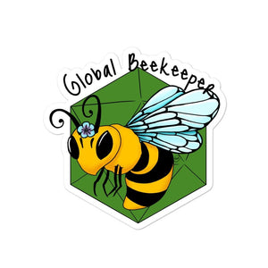 B20 Global Beekeeper Stickers Stickers 4x4 Deven Rue