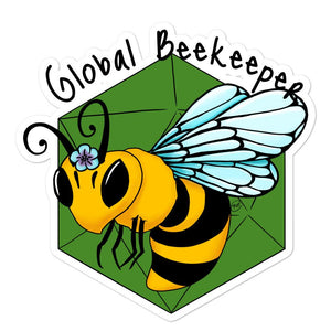 B20 Global Beekeeper Stickers Stickers 5.5x5.5 Deven Rue