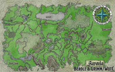 Barovia Map Download Map Downloads Deven Rue