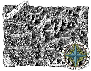 Bliyss Valley Map Map Downloads Black & White Deven Rue