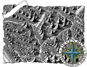 Bliyss Valley Map Map Downloads Black & White w/o labels Deven Rue