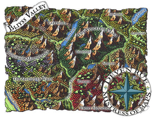 Bliyss Valley Map Map Downloads Color Deven Rue
