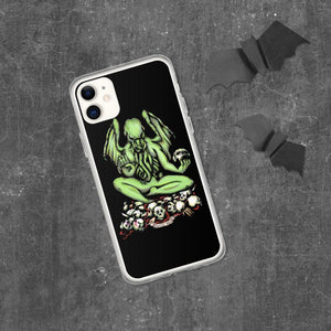 Buddhathulhu iPhone Case Case iPhone 11 Deven Rue