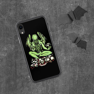 Buddhathulhu iPhone Case Case iPhone XR Deven Rue