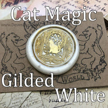 Load image into Gallery viewer, Cat Magic Wax Seals Props Deven Rue