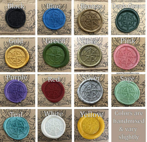 Compass Wax Seals Props Deven Rue