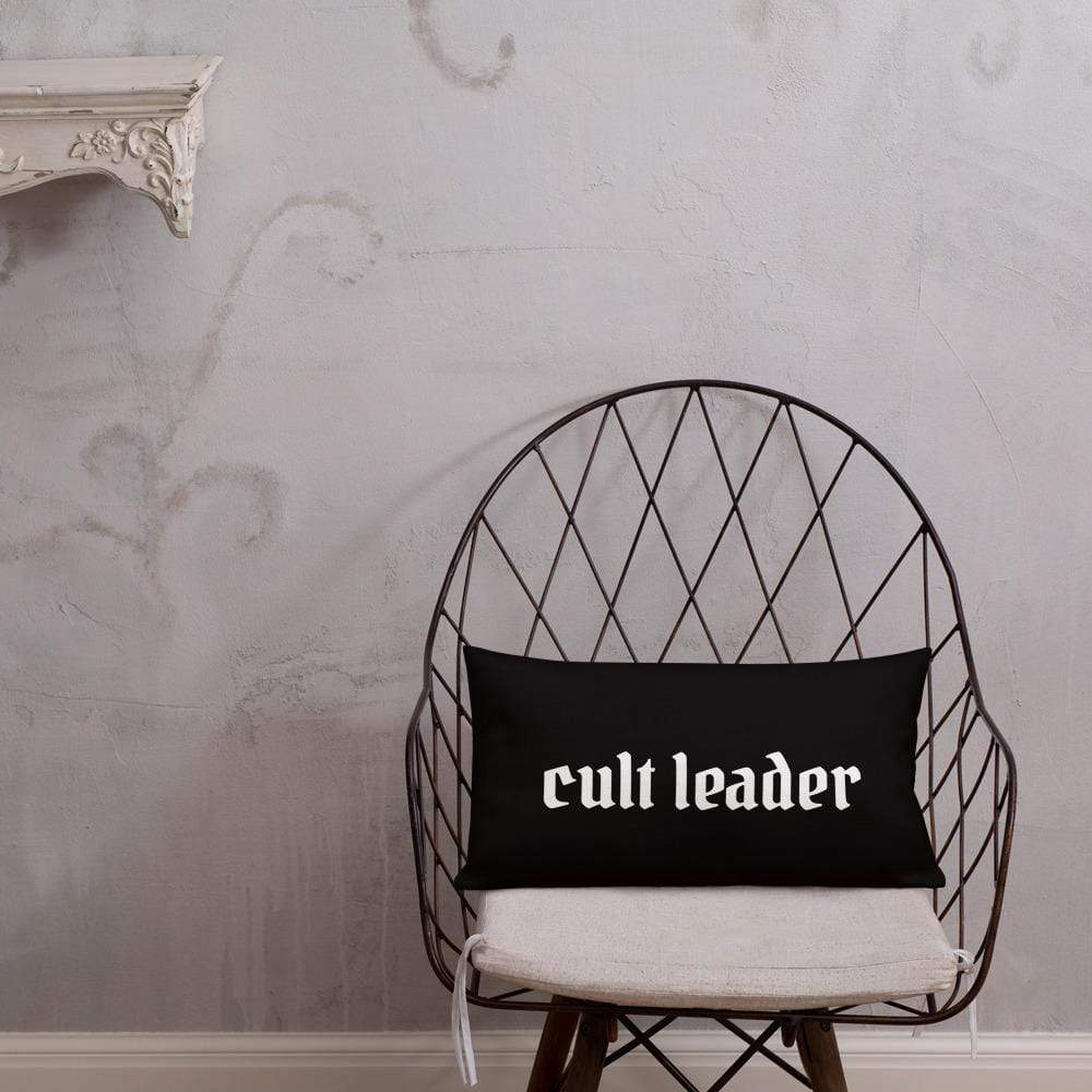 Cult Leader Pillow Deven Rue